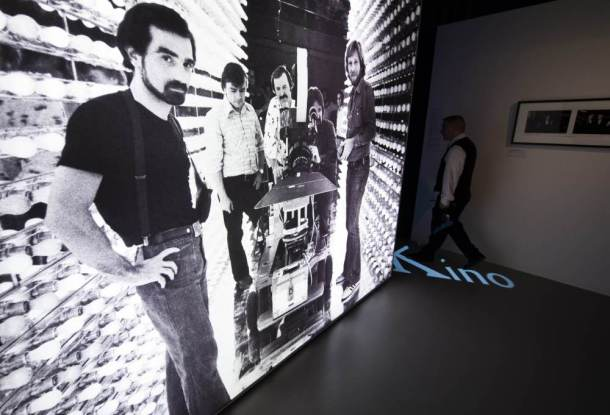 GERMANY-US-FILM-SCORSESE-EXHIBITION