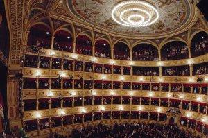 Interno del Teatro Verdi di Trieste