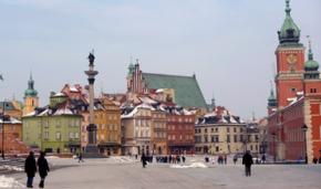 Varsavia. Warsaw. 1945.