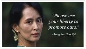 VITA AGLI ARRESTI DI AUNG SAN SUUKYI.