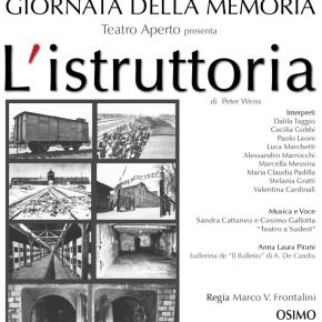 Giornata della Memoria. Teatro la Nuova FeniceOsimo.