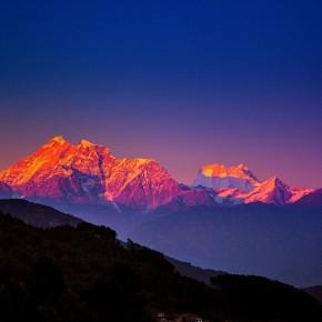 In India ad un passo dall'Himalaya.