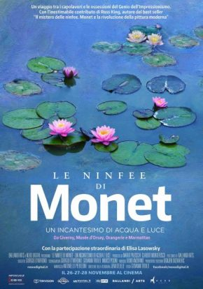 Le Ninfee di Monet. Un incantesimo di acqua eluce.